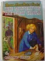 Nancy Drew The Mystery of the Ivory Charm no.13 1941A-12 hcdj Carolyn Ke... - $80.00