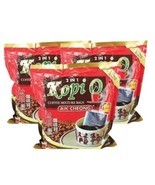 Aik Cheong Coffee 2 in 1 Kopi 0 Mixture Bags Sugar Added 12's X 4 Malays... - $68.90