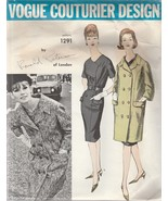 Vintage Sewing Pattern Vogue Couturier Design 1291 Ronald Paterson of Lo... - $69.29