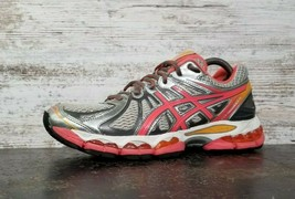 Womens Asics Gel Nimbus 15 Running Shoes Sz 8 39.5 B Used T3B5N Sneakers... - $24.74
