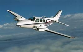 1/144 scale Resin Model Kit Beechcraft Baron Civil - $12.00