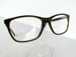 Unkown Plastic Frame   Dark Brown Horn  54 x 16 140 mm BUDGET Eyeglass F... - $19.75