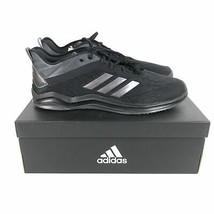 Adidas Speed Trainer 4 Baseball Shoes Men's Size 16 Black CG5135 - $58.41
