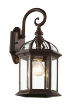 "Trans Globe Lighting 4181 RT Outdoor Wentworth 15.75"" Wall Lantern, Rust - €34,28 EUR"