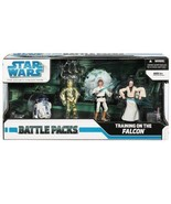 Star Wars Battle Pack Training on The Falcon New SEALED - $149.60