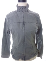Lucy Jacket Lightweight Zippered Jacket Gray Si... - $27.00