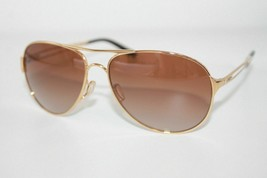 Oakley Caveat Sunglasses OO4054-07 Polished Gold W/ VR50 Brown Gradient ... - $65.13