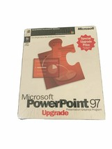 Vintage - Sealed BRAND NEW In Box Microsoft PowerPoint 97 Upgrade - Neve... - $29.97