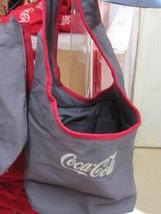 Coca Cola Gray Tote/Bag Oval Shape Handle Strap  - NEW - $29.45