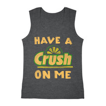 Crush On Me Tank Top Size S, M, L, XL New Charcoal - $12.99