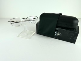 Oakley Lizard 2 (54) OX 5120-0454 Chrome TITANIUM 54 x 18 Eyeglass Frames - $97.96