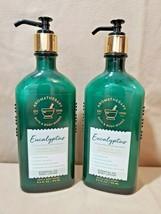2 - Bath and Body Works AROMATHERAPY Eucalyptus Body Lotion - $17.95