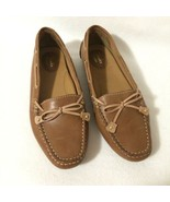 Clarks Artisan Driving Moccasins Size 7.5 M Tan Leather Slip-on Loafers ... - $25.00