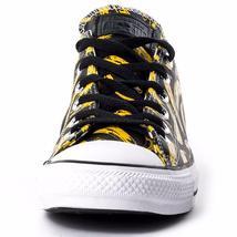 Converse Andy Warhol Chuck Taylor Lo Ox Leather Banana Velvet Underground BLACK image 4