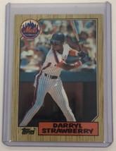 1987 Topps #460 DARRYL STRAWBERRY NY Mets C - $1.97