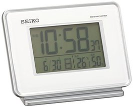 Seiko Clock Clock 2-Channel Alarm Temperature and Humidity Radio Digital Alarm C - $112.64