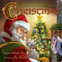 Twas The Night Before Christmas [Board book] Moore, Clement Clarke and G... - $1.83