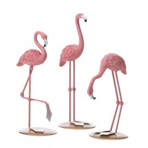Tabletop Flamingo Trio - $19.95