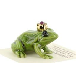 Birthstone Frog Prince February Simulated Amethyst Miniatures by Hagen-Renaker image 5