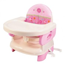 Summer Infant Deluxe Comfort Folding Booster Seat, Pink - $22.01