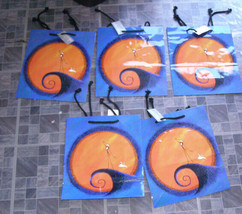 Disney Nightmare Before Christmas Gift Bag Lot 1993 Stephan Lawrence - $19.99