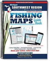 Southwest Michigan Fishing Map Guide (Sportsman's Connection) [Spiral-bo... - $14.71