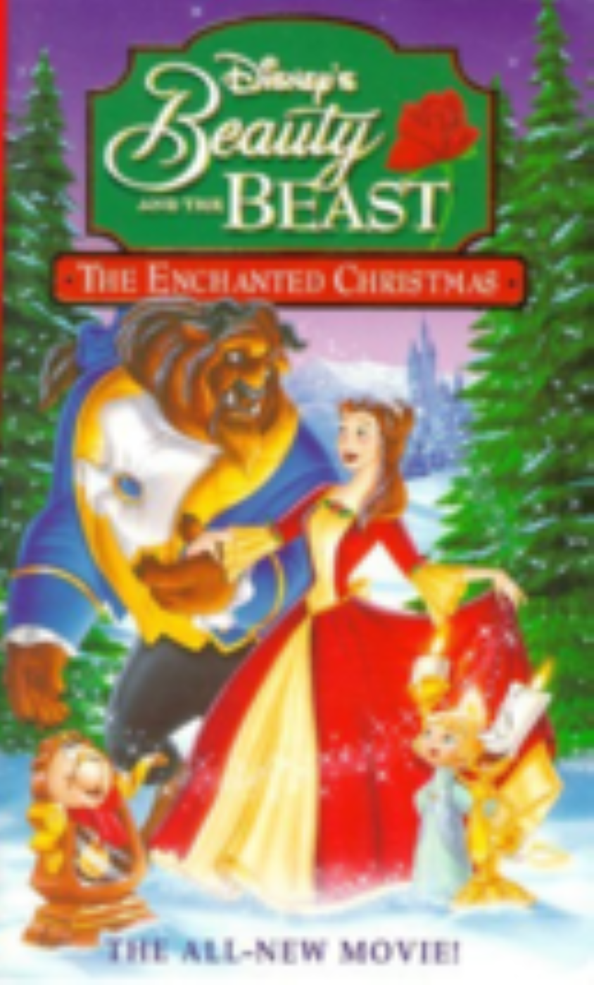 Disney's Beauty and the Beast - The Enchanted Christmas Vhs