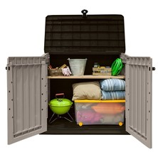 Garden Storage Shed Large Patio Outdoor Container Box Organizer Utility ... - $164.15