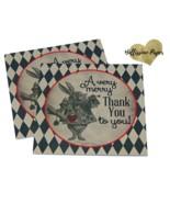 Vintage Alice in Wonderland Favor Tags, Birthday, Baby Shower, Bridal Sh... - $0.24