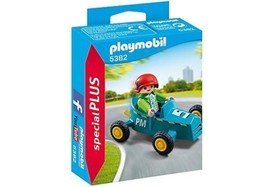 Playmobil 5382 - Special PLUS - Boy with Go Kart - New and Sealed - $3.05