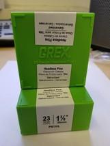 "Grex 23 Gauge Headless Micro Pins P6/35L 1-3/8"" Inch 10,000 Per Box ( 1 ... - $22.99"