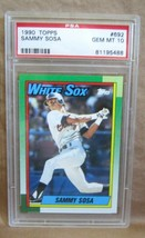 Sammy Sosa Rc 1990 Topps Baseball CARD#692 Gem Mint PSA10!WHITE Sox Of Rc Goat - $395.99