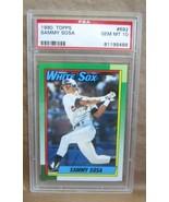 SAMMY SOSA RC 1990 TOPPS BASEBALL CARD#692 GEM MINT PSA10!WHITE SOX OF R... - $395.99