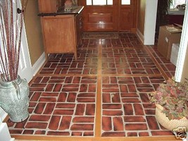Antique Brick Veneer Molds (10) Make 100s of Brick Veneer Wall & Floor Tiles image 2