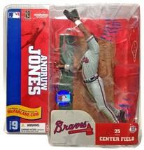 Andruw Jones Atlanta Braves McFarlane Variant Uniform Figure MLB NIB 2004 - $54.44