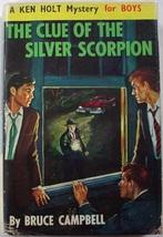 Ken Holt KH16 Clue of the Silver Scorpion hcdj British edition Bruce Cam... - $75.00