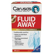 Carusos Natural Health Fluid Away 60 Tablets - $187.80