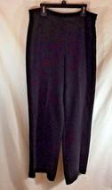 "Ann Taylor Womens Black Dress Pants Sz 6 LIned Career 30.5"" inseam - $17.59"