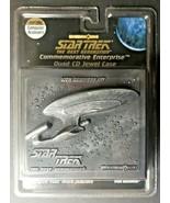 Vintage 1997 Star Trek The Next Generational 10th Anniversary Quad CD Je... - $9.99