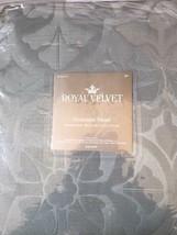 "NEW Royal Velvet Georgina Grommet Panel Sage Shadow 50"" x 95"" - $19.85"