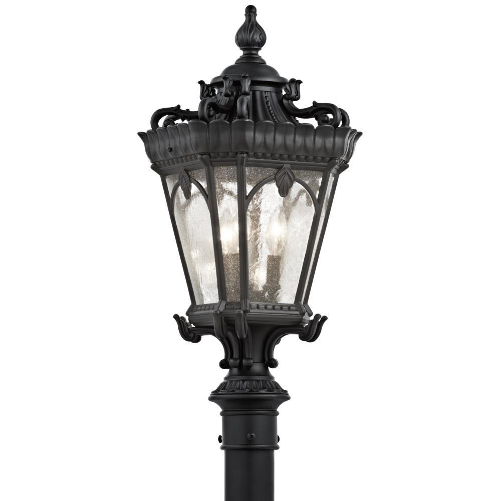 Kichler 9558BKT Tournai Outdoor Post Light Textured Black - $519.99