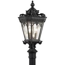 Kichler 9558BKT Tournai Outdoor Post Light Textured Black - $520.00