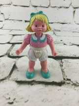 Vintage Fisher Loving Family Dollhouse Little Girl Doll - $19.79