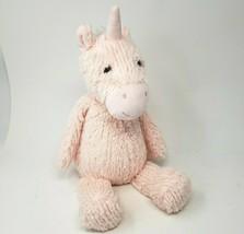 "16"" Manhattan Toy Co Baby Pink Unicorn 2016 Stuffed Animal Plush Soft Lovey - $36.20"