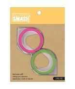 """Lot of 2 K&Company SMASH Label Maker Refills Green & Pink 81"""" 2/Pkg - 30... - $12.38"""