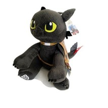 """NWT Build a Bear DreamWorks Toothless Plush How To Train Your Dragon 13""""... - $49.49"""