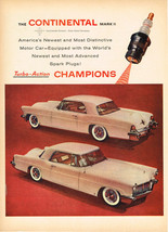 Vintage 1955 Magazine Ad Lincoln Continental Mark II Newest & Most Distinctive - $5.93