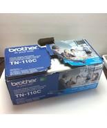 Brother Genuine TN-110C 190428 Cyan Color Toner Printer Cartridge / Dama... - $45.11