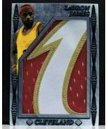 Lebron James Jumbo Jersey Card 3 Color Limited xx/10 Cavaliers Nice! - $59.99