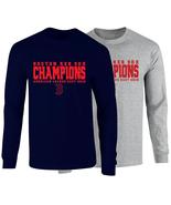 Boston Red Sox 2018 American League East Champions Long Sleeve T-Shirt - $25.99+